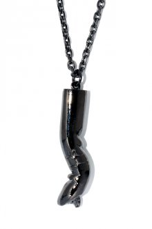 unclod - HIS CIGARETTE NECKLACE (GUNMETAL BLACK)   「アンクロッド」[ネックレス]