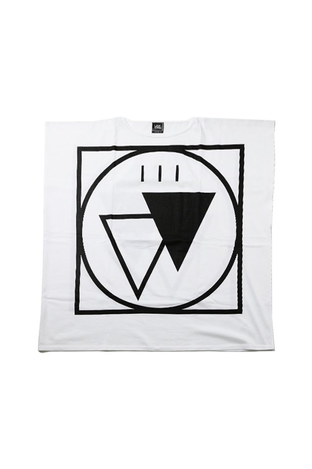 SILLENT FROM ME - CRYPTIC -Square Sleeveless- (WHITE)「サイレントフロムミー」[シャツ]