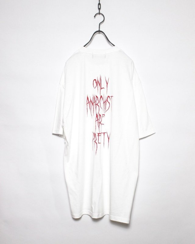 SHINICHI SUMINO - ANARCHY TEE(WHITE)