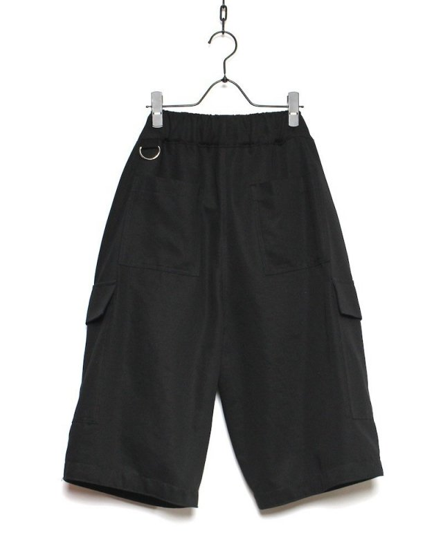 SHINICHI SUMINO - CARGO SHORTS(BLACK)
