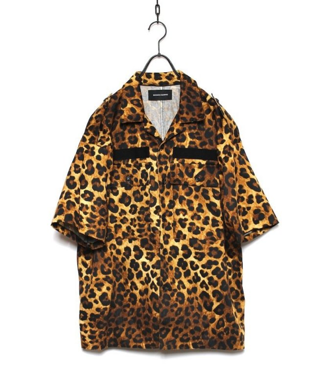 SHINICHI SUMINO - MILITARY SHIRT(LEOPARD)
