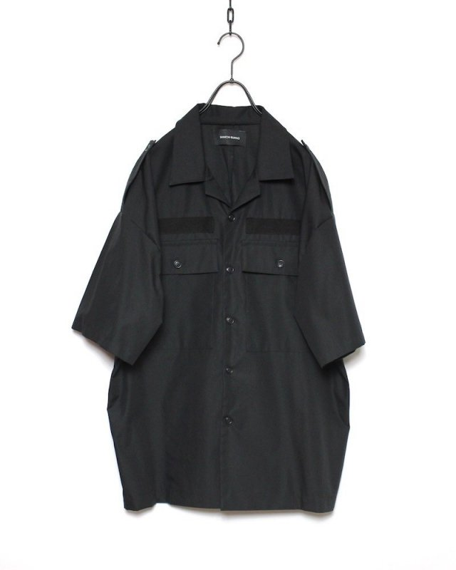 SHINICHI SUMINO - MILITARY SHIRT(BLACK)