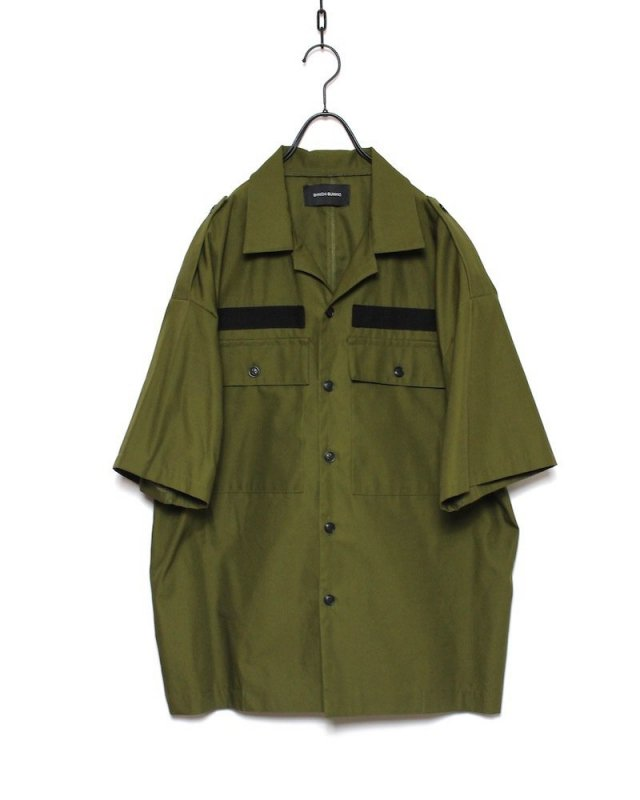 SHINICHI SUMINO - MILITARY SHIRT(KHAKI)