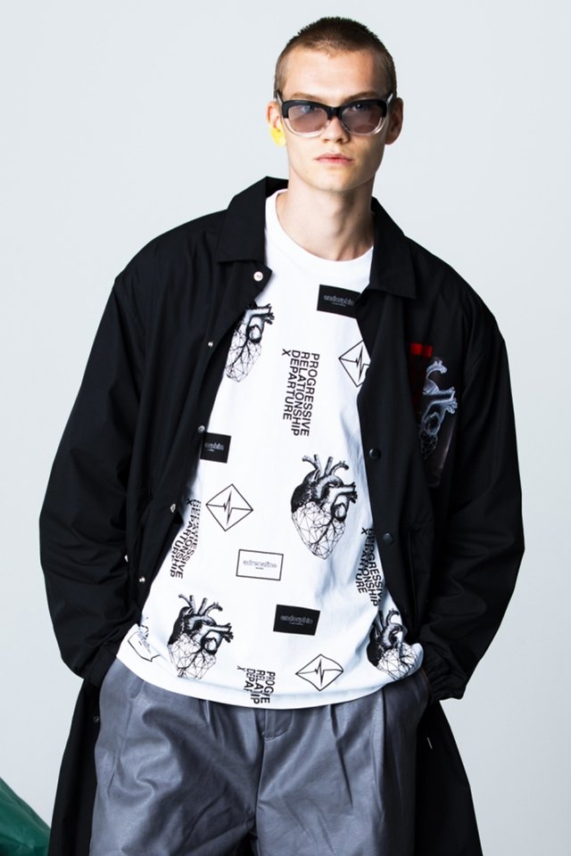 PARADOX-GRAPHIC L/S TEE(WHITE)