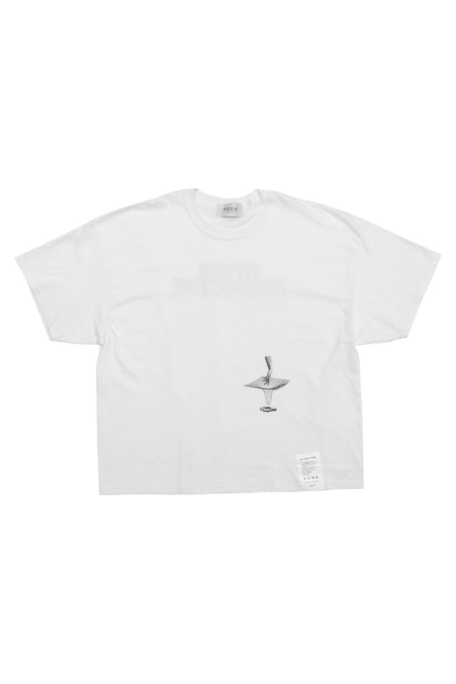 PARADOX - WIDE BIG TEE PERSECTIVE (WHITE)