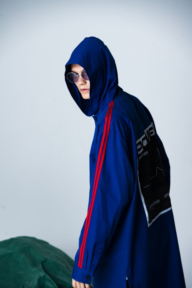 PARADOX - HOODED SHIRTS (BLUE)