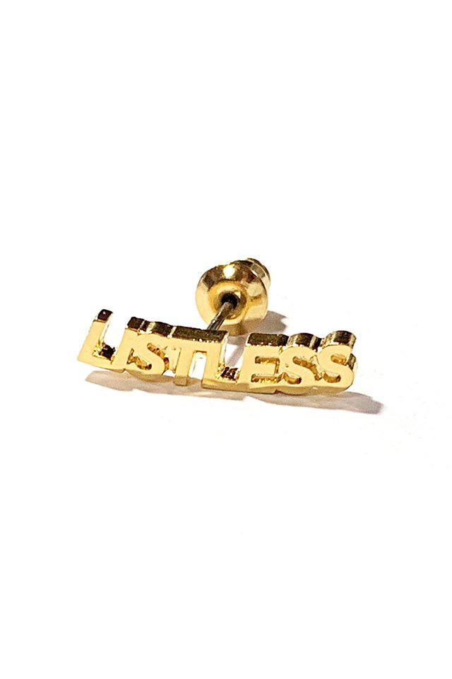 【20%OFF】LISTLESS - PIACE (GOLD)