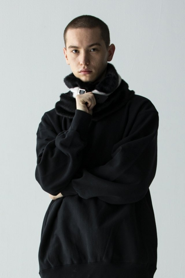 PRDX × BTD - FUR SNOOD (WHITE)