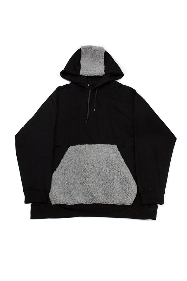 【50%OFF】PARADOX - SWITCHING PULL PARKA (BLACK)
