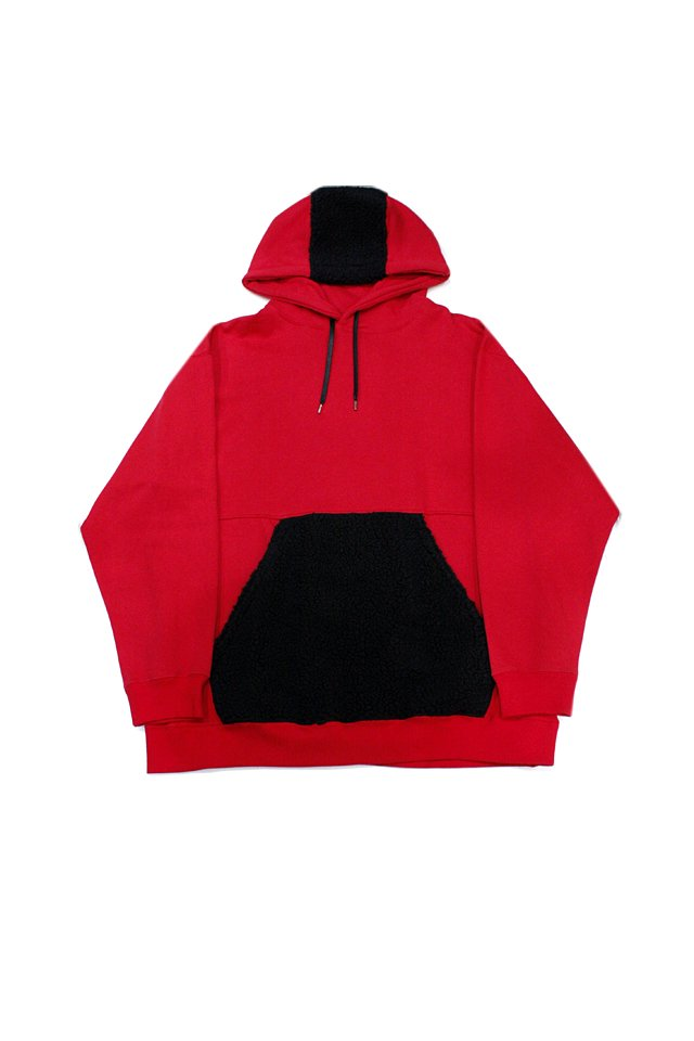 【50%OFF】PARADOX - SWITCHING PULL PARKA (RED)