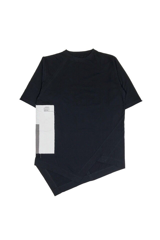 MUZE BLACK LABEL - LAYERED TEE (PERSONAL) (BLACK)
