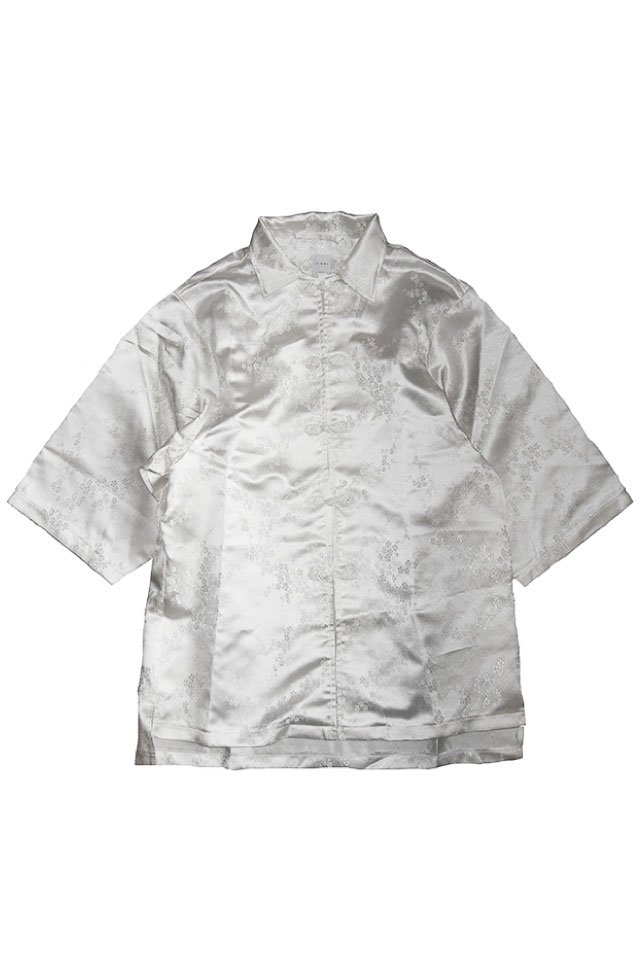 IKUMI - CHINA SHIRT(WHITE)