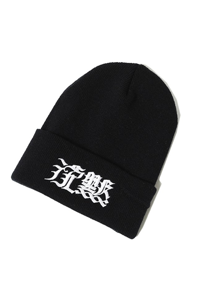 SILLENT FROM ME 沈黙 -Beanie-(BLK)