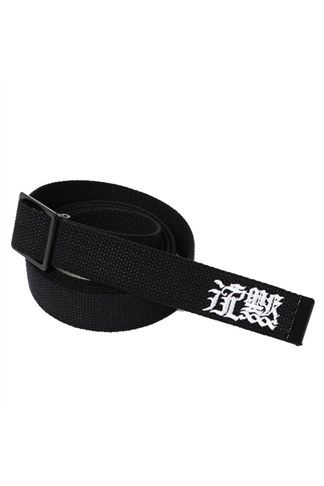 SILLENT FROM ME 沈黙 -G.I Web Belt-(BLK)