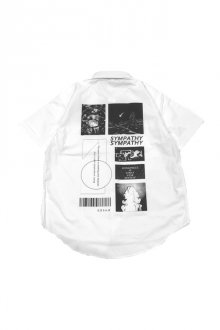 LISTLESS -【 FUTURE MIND S/S SH 】(WHITE)
