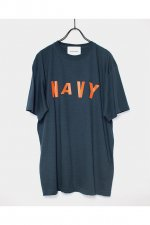 SHINICHI SUMINO - NAVY T-SHIRT(SLATE BLUE)