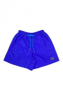 MUZE BLACK LABEL - EMBROIDERY PATCH SHORTS(ROYAL)