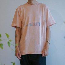 ELIMINATE - AUR ELM LOGO TEE(PINK)