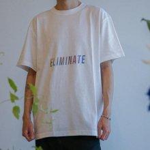 ELIMINATE - AUR ELM LOGO TEE(WHITE)