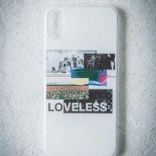 ELIMINATE - LOVELESS iPhoneCase(WHITE)