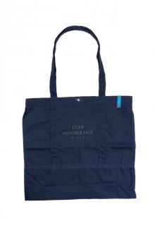 MUZE BALCK LABEL - MUZE DEEP PSYCHOLOGY TOTE BAG(NAVY)