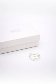 unclod - TINY BALL RING-A (SILVER)
