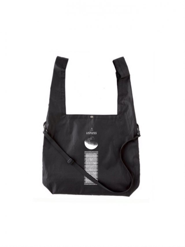 【30%OFF】LISTLESS - 2WAY ECOBAG(BLACK)