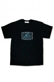 """君は彼方×GYFT - """"KIMI WA KANATA"""" T- Shirt (BLACK)"""