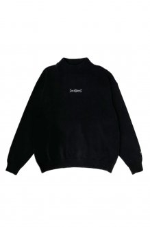 【30%OFF】PRDXPRDX PARADOX TOKYO - MOCKNECK KNIT「out of control」(BLACK)