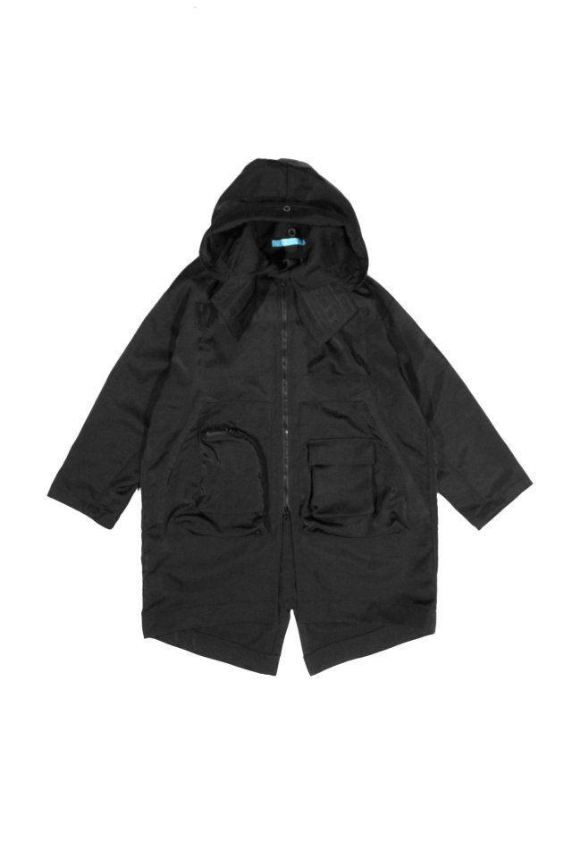 MUZE TURQUOISE LABEL - OVERSIZE MODS COAT (BLACK)