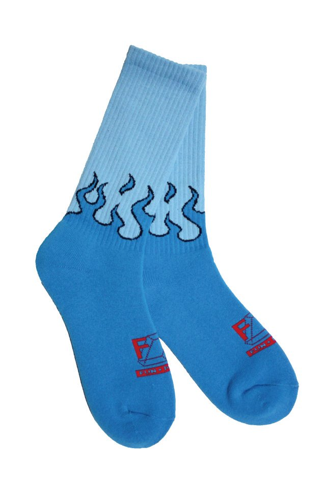 MUZE TURQUOISE LABEL × FUN - FIRE SOX Ver.II (TURQUOISE×RED)