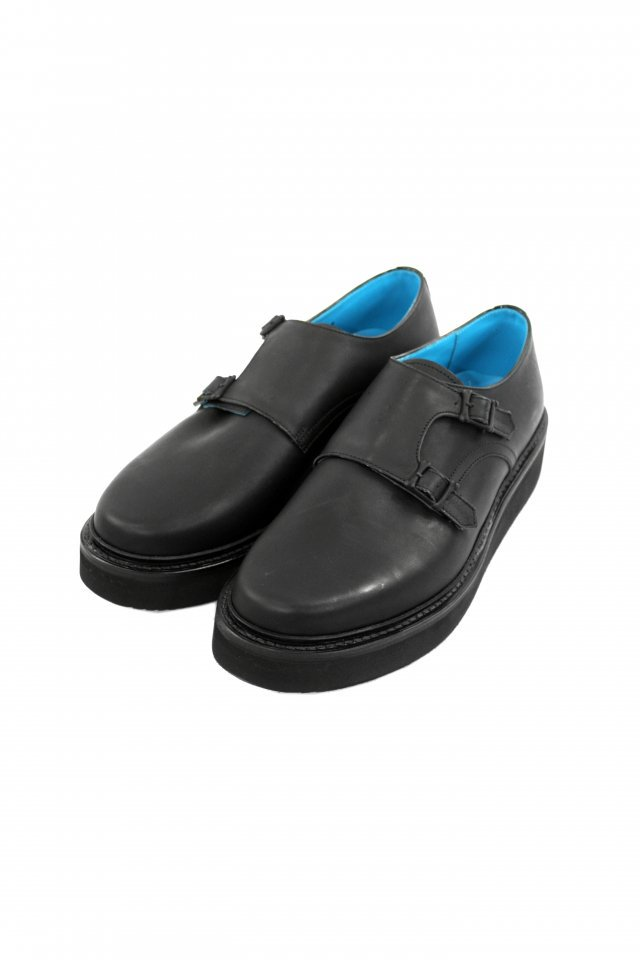 MUZE TURQUOISE LABEL【MUZE×KIDS LOVE GAITE - VIBRAM SOLE DOUBLE MONK STRAP SHOES】