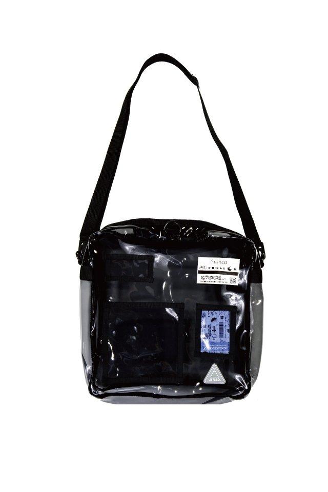 "LISTLESS - dis""C""ustom/PVC BAG(Black)"