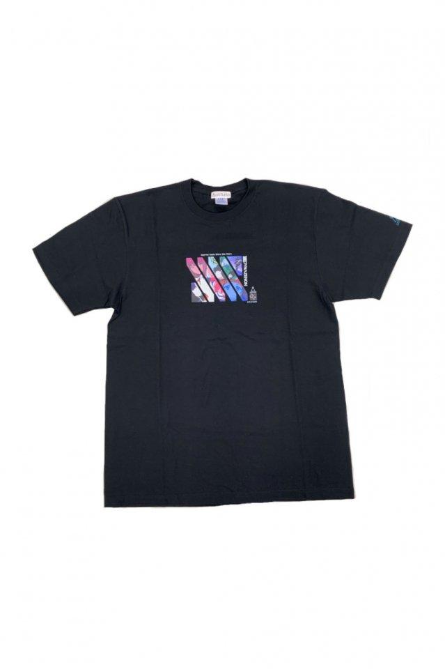 【受注商品12月お届け】LISTLESS-SSSS.DYNAZENON「Scarred Soul Shine like Stars. T-Shirts」(BLACK)