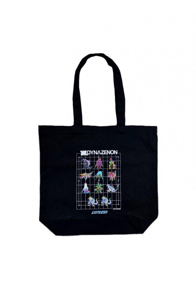 【受注商品12月お届け】LISTLESS-SSSS.DYNAZENON「怪獣 tote-bag」