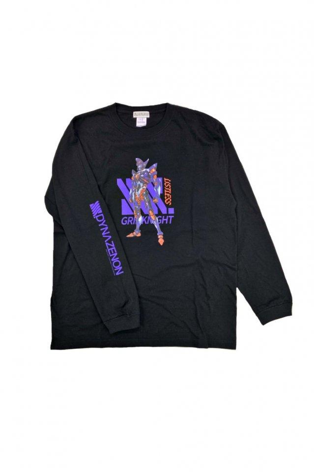 【受注商品12月お届け】LISTLESS-SSSS.DYNAZENON「BATTLE GRIDKNIGHT」 L/S T-Shirts」