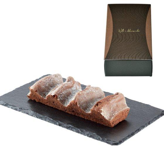 樹峰ベルク薪型1本入 チョコレート