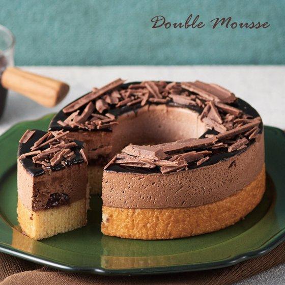 【送料無料≪冷凍便≫】ドゥーブルとろけるムース チョコレート(バームクーヘン)