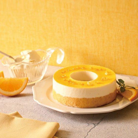 【送料無料≪冷凍便≫】ドゥーブルとろけるムース レアチーズ(バームクーヘン)