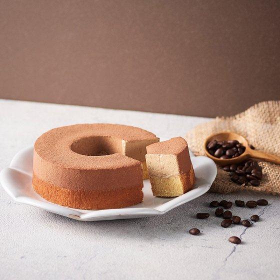 【送料無料≪冷凍便≫】ドゥーブルとろけるムース コーヒー(バームクーヘン)