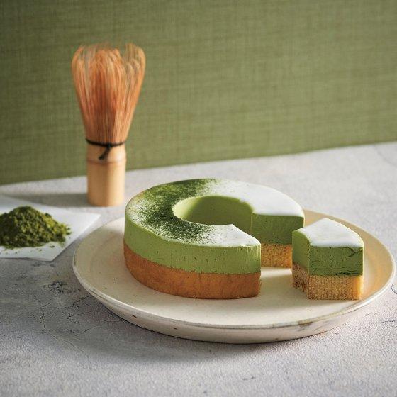 【送料無料≪冷凍便≫】ドゥーブルとろけるムース 抹茶(バームクーヘン)