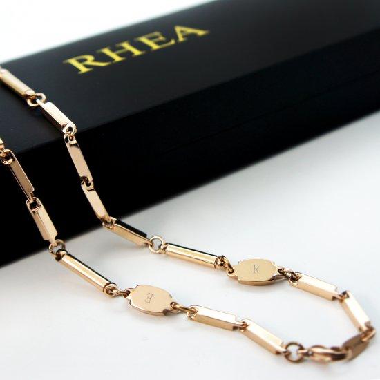 RHEA ネックレス ゴ−ルド