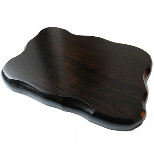 花台 木製黒丹調 平板 7号サイズ