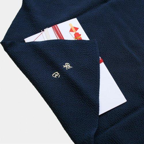 丹後ちりめん 染め抜き 中巾(45cm)京染め(御誂え)