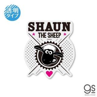透明ステッカー SHAUN THE SHEEP LCS-1243