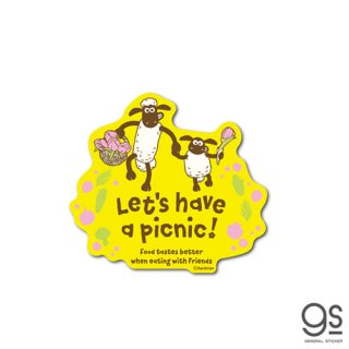 ステッカー ショーン&ティミー(picnic) SHAUN-01