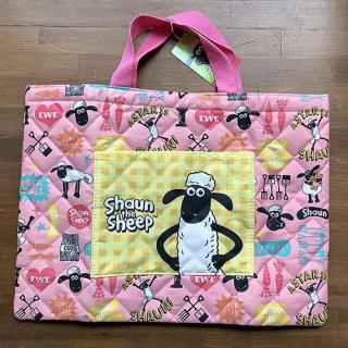【在庫で終了】ショーン キルトレッスンバッグ ピンク