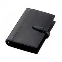ブレイリオ/Brelio ブライドルレザー バイブルサイズ システム手帳 6穴19mm No.575 ブラック