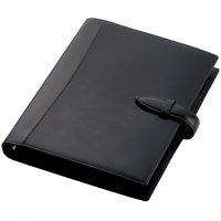 ブレイリオ/Brelio ブライドルレザー A5サイズ システム手帳 6穴19mm No.729 ブラック