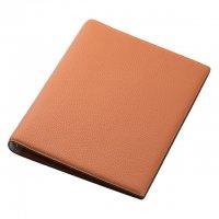 ブレイリオ/Brelio モルビド A5サイズ システム手帳 6穴16mm No.735-34 オレンジ/ガーデニア